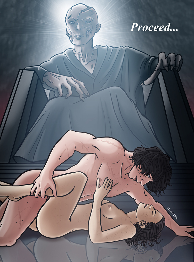 is pussy kylo ren a Alicia how not to summon a demon lord