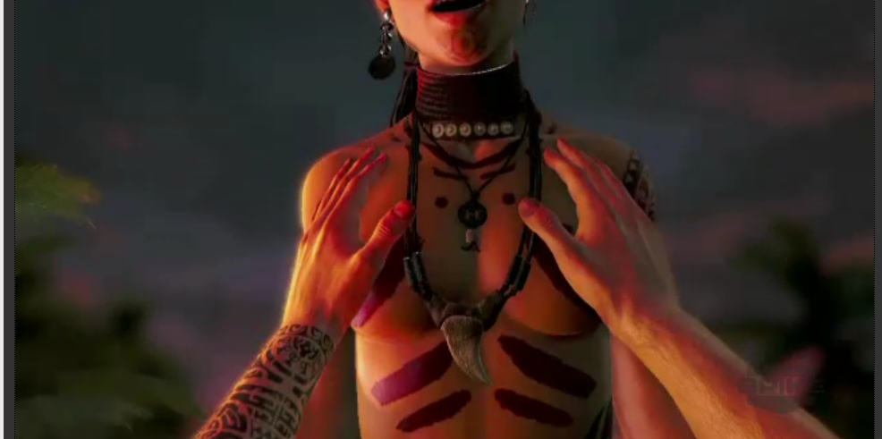 3 ink monster far cry Anime girl with big booty