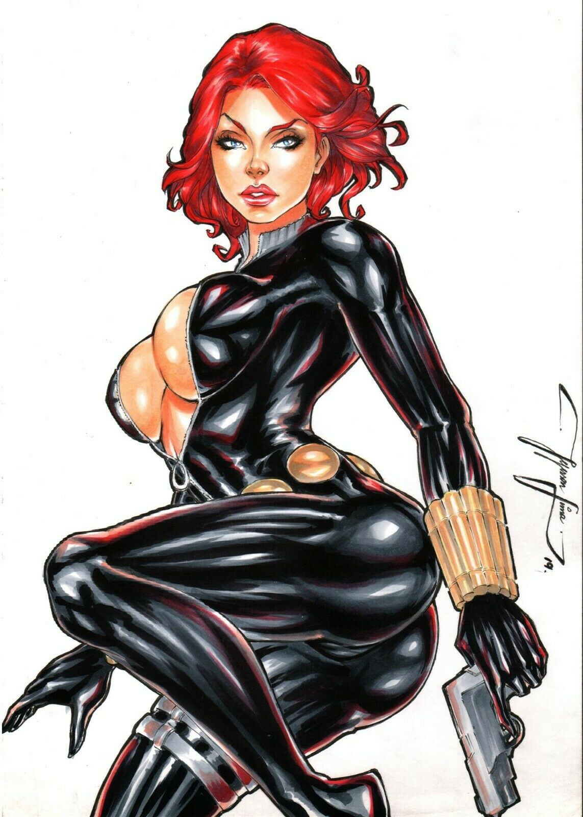 black widow the avengers naked My very own lith all images