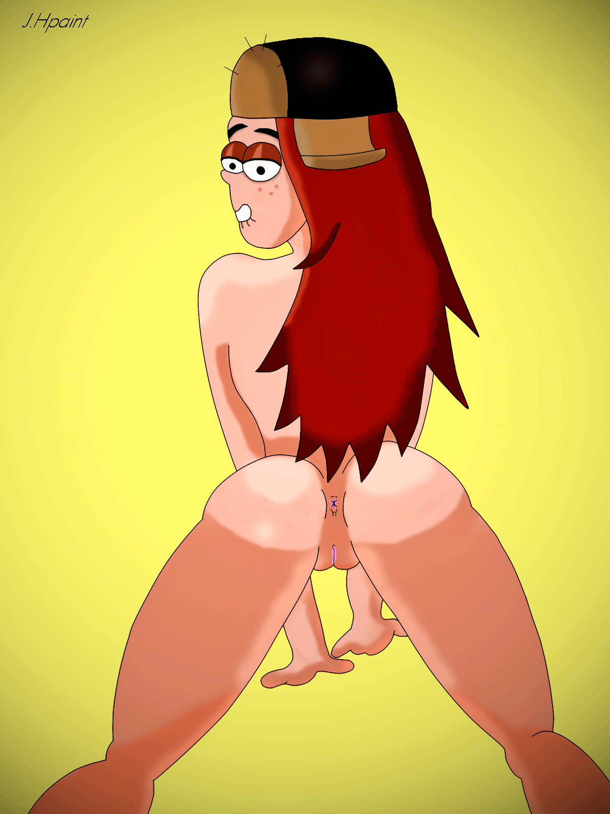falls wendy gravity Naked how to train your dragon