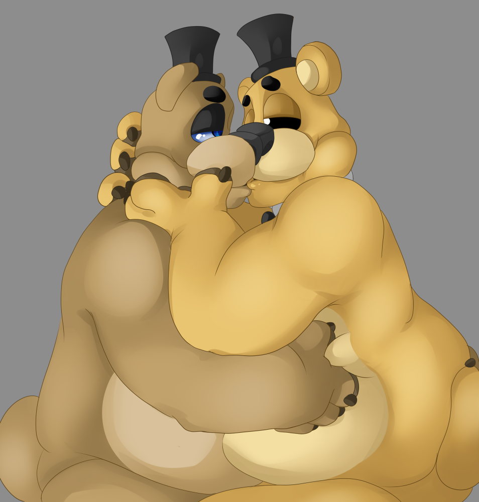to draw nightmare how golden freddy Lilly from alpha and omega