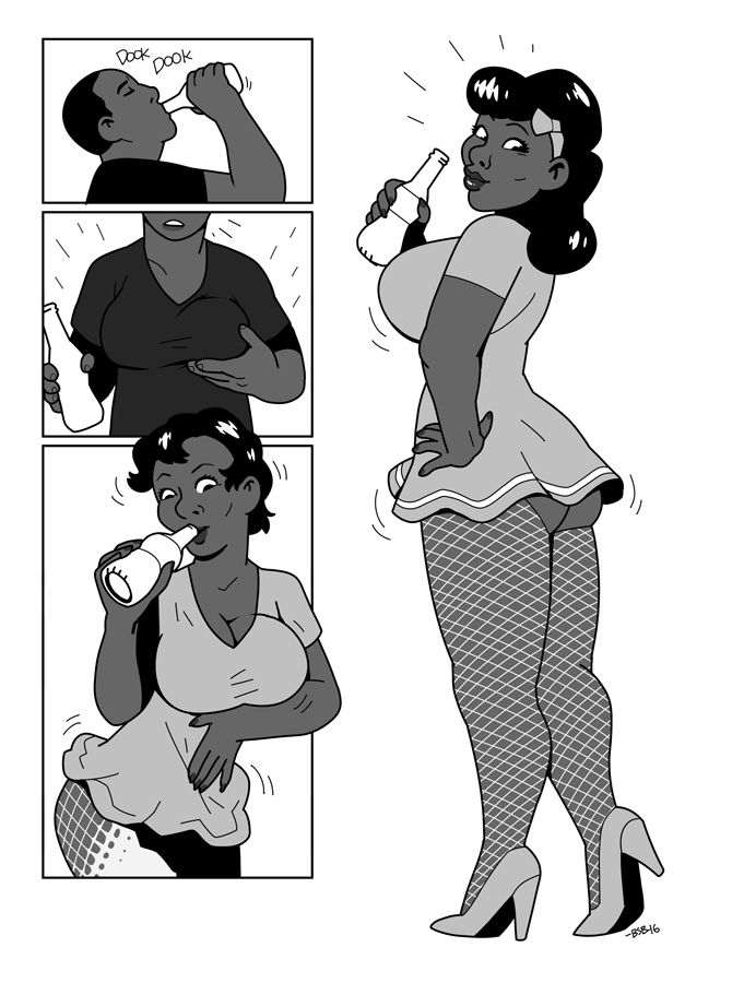 female to male animation transformation Lovely x cation the animation