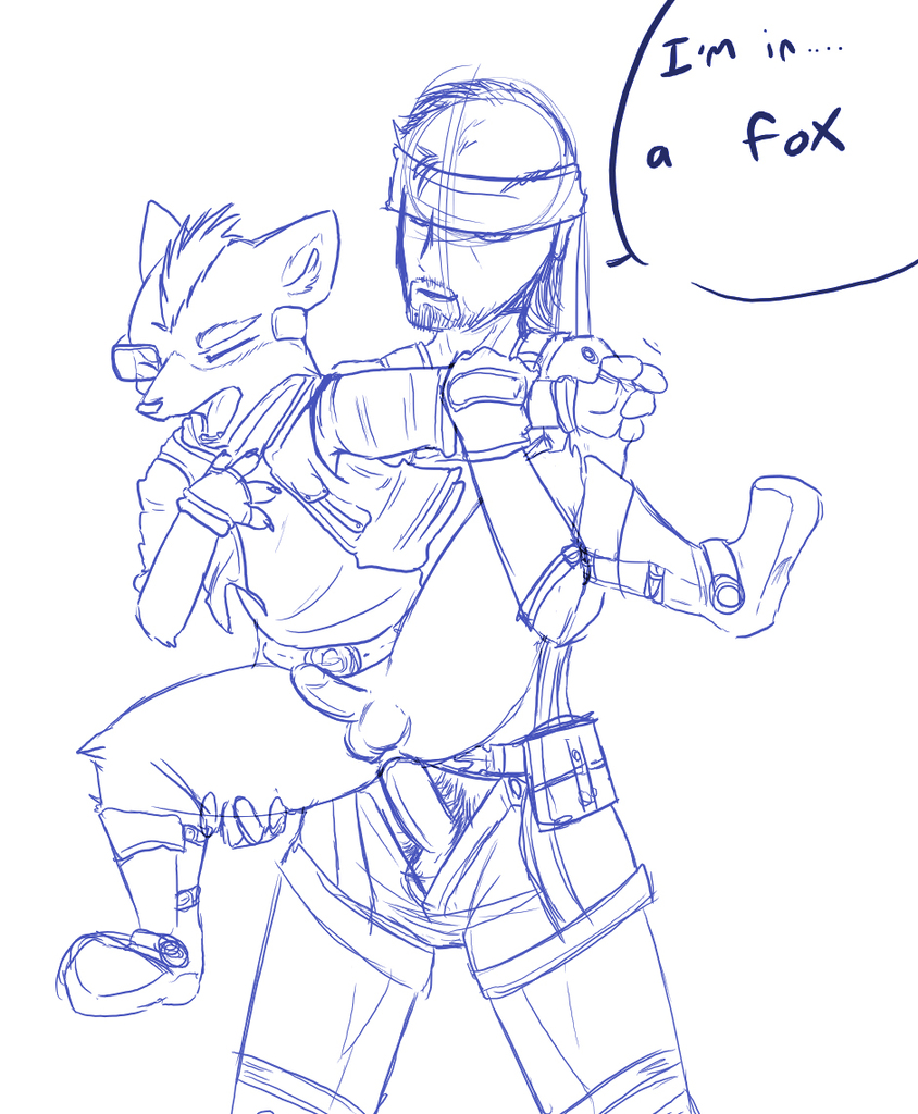 melee of a fox anatomy No more heroes dr. naomi