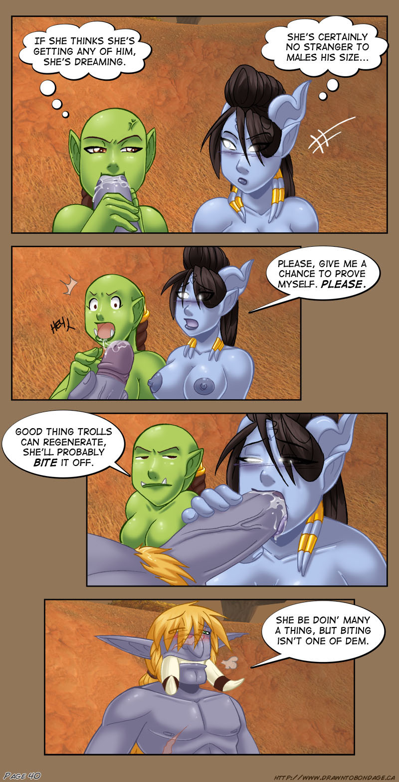 world sex warcraft comics of Maki-chan to now.