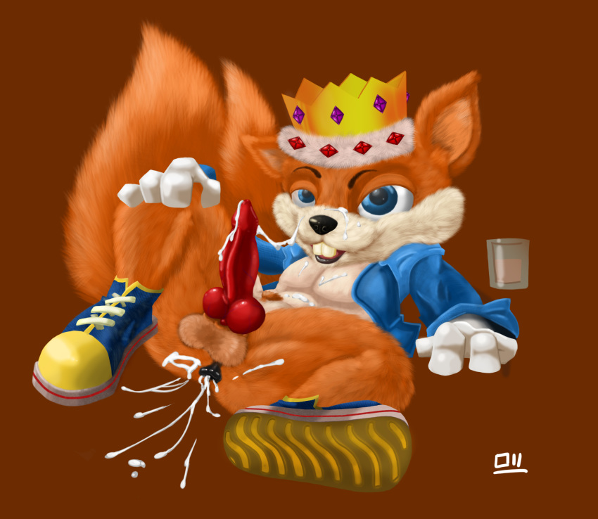 day bad conker's fur zombies The vampire king adventure time