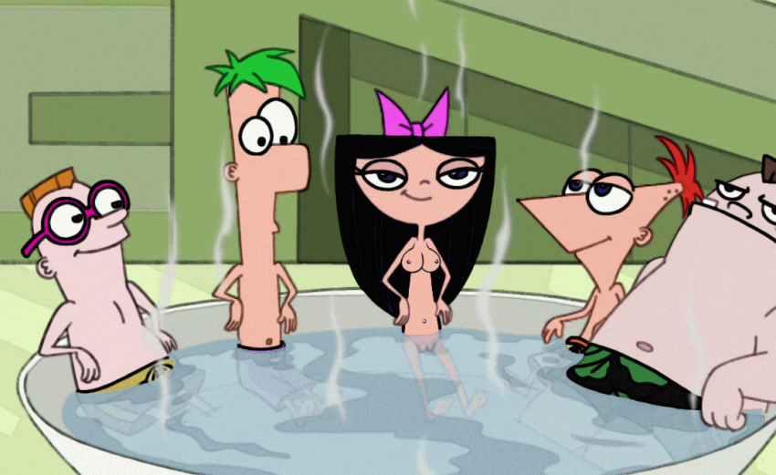 and ferb phineas vanessa naked Majora's mask honey and darling